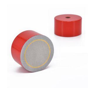 AlNiCo pot magnet Ø 35 x 20 mm, gjenge M6, tåler 450°C