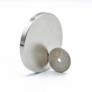 Diskmagnet Ø 50 x 5 mm