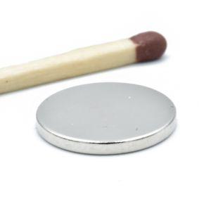 Diskmagnet Ø 14 x 1,5 mm