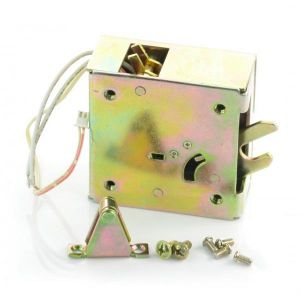 Elektrisk skaplås i metall 12V, med deteksjon av åpne dører