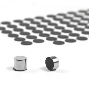 Selvklebende silikonbeskyttelse Ø 12 mm, 7 stk.