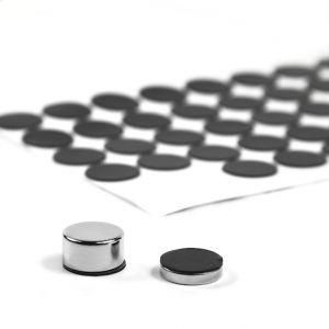 Selvklebende silikonbeskyttelse Ø 15 mm, 5 stk.