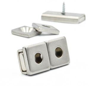 Magnetfeste i stålhus 30 mm