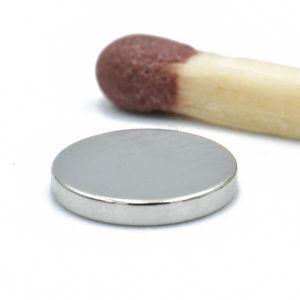 Diskmagnet Ø 7 x 1 mm