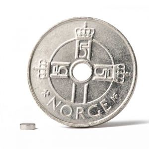 Mini magnet skive Ø 3 x 1 mm N52