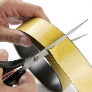 Selvklebende magnetisk tape 40 mm