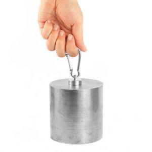 Pottemagnet Ø 25 mm med karabinkrok