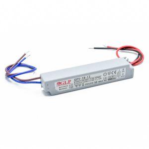 Strømforsyning 12V 1,5A 18W, vanntett IP67