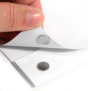 Selvklebende disk magnet Ø 10  x 1 mm