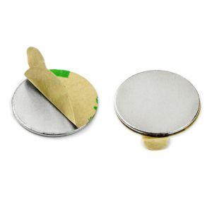 Selvklebende disk magnet Ø 20 x 1 mm