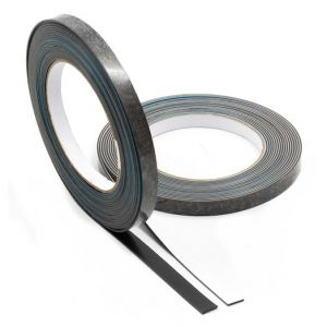 Selvklebende jerntape 10 mm, 5m - overflate for magneter