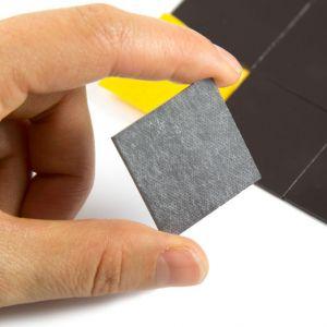 Selvklebende magneter 30 x 30 mm, sett av 20 stk.
