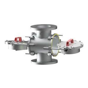Sjaktmagnet ML-P for vakuum- og trykkrør