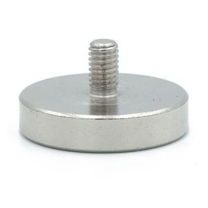 Pot magnet Ø 32 mm, M6 utvendig gjenge