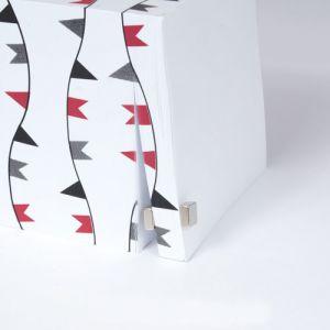 Firkantet blokk magnet 7 x 7 x 3 mm