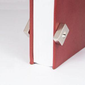 Sterk blokk magnet med skruehull 30 x 20 x 10 mm