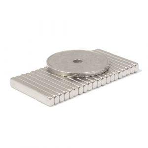 Blokk magnet 20 x 3 x 2 mm