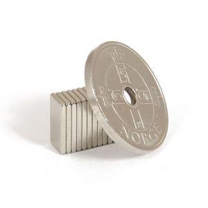 Blokk magnet 10 x 5 x 1 mm