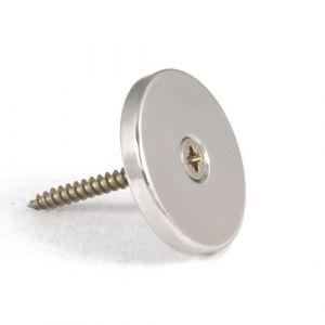 Kraftig disk magnet med monteringshull Ø 30 mm