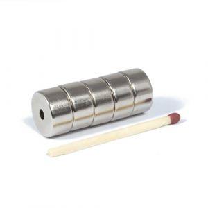 Ring magnet Ø 14/3 mm x 7 mm