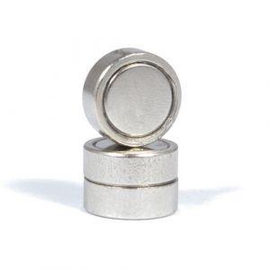 Forsterket diskmagnet Ø 13 x 4,5 mm