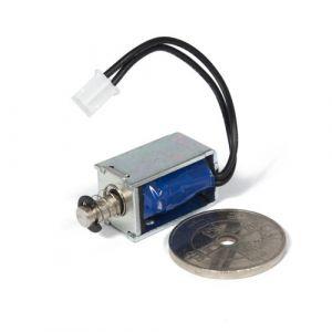 Elektromagnet solenoid 5V, push-pull