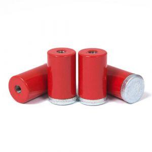 AlNiCo pot magnet Ø 13 x 20 mm, M4 gjenge