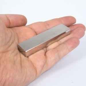 Stor blokk magnet 80 x 20 x 10 mm