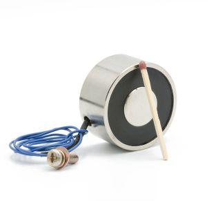Holdemagnet med holdekraft 20 kg 12VDC