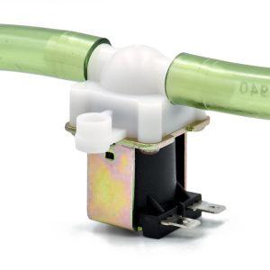 Magnetventil 12V med slangetilkobling Ø 11 mm