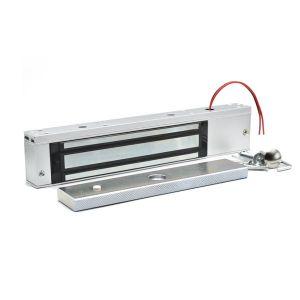 Kraftig dørholder magnet 12V, holdekraft 280 kg