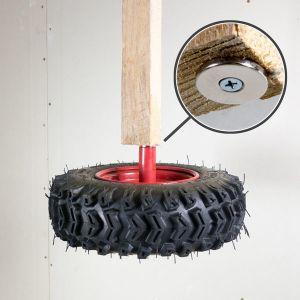 Disk magnet med skruehull Ø 27 mm