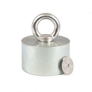 Pot magnet Ø 60 x 35 mm, løftekraft 200 kg