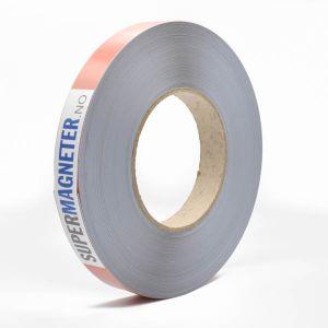 Selvklebende stålbånd 19 mm, rull 30 meter
