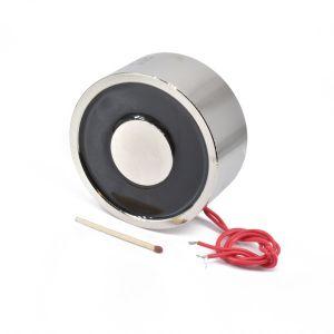 Elektromagnet med holdekraft 120 kg 12V 13W