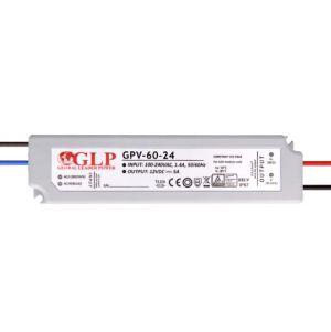 Strømforsyning 24V 2,5A 60W IP67