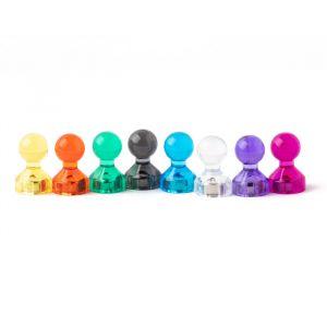 Ludo magnet Ø 11 mm i mange fine farger