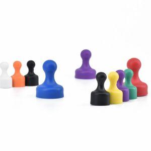 Tavlemagnet Ø 12 mm i flere farger