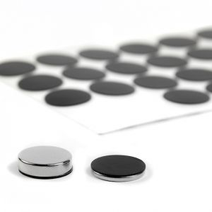 Selvklebende silikon-beskyttelse Ø 20 mm, 4 stk.
