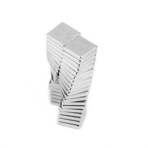 Magnetplate av neodym 5 x 5 x 1 mm