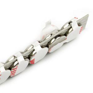 Sett av 10 supersterke magneter Ø 22 x 2 mm, selvklebende