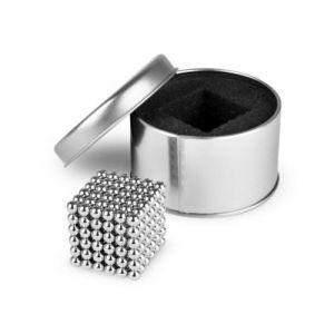 NeoCube 216 magnetkuler, sølv