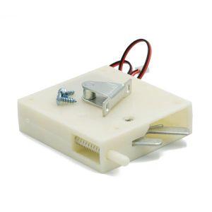 Elektrisk skaplås m/fjær, 12V