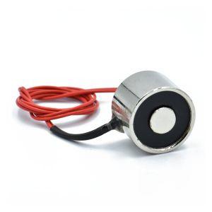 Elektromagnet 12V, holdekraft 2,5 kg
