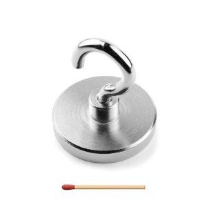 Stor krok magnet Ø 63 x 22 mm