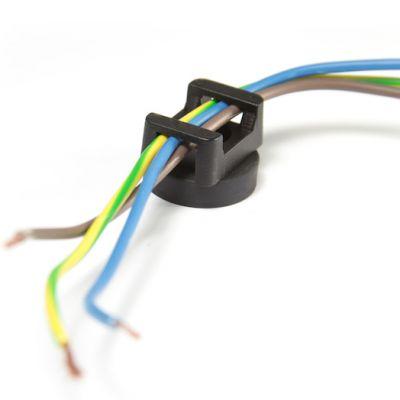 Gummi magnet for kabelmontering Ø 22 mm