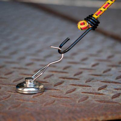 Magnet med roterende krok,  diameter Ø 42 mm