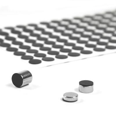 Silikonskiver Ø 10 mm, selvklebende, 8 stk.