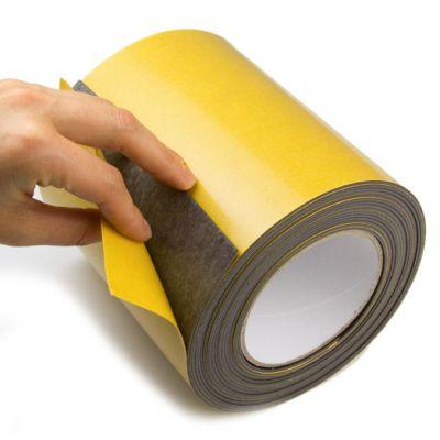 Selvklebende magnetape i rull 150 mm, 1 meter