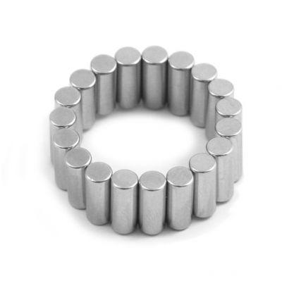 Stavmagnet Ø 4 x 10 mm, diametrisk polarisering